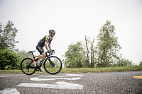 up the very steep finale of the Mur de Péguère (CAT1/9.3km@7.9%)<br /> <br /> tage 15: Limoux to Foix(185km)<br /> 106th Tour de France 2019 (2.UWT)<br /> <br /> ©kramon