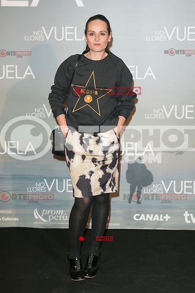 "Ana Locking attends Claudia´s Llosa ""No Llores Vuela"" movie premiere at Callao Cinema, Madrid,  Spain. January 21, 2015.(ALTERPHOTOS/)Carlos Dafonte) /NortePhoto<br /> NortePhoto.com"