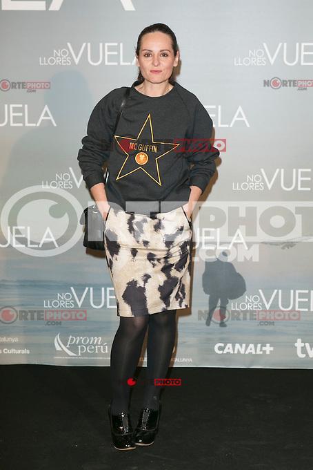 Ana Locking attends Claudia&acute;s Llosa &quot;No Llores Vuela&quot; movie premiere at Callao Cinema, Madrid,  Spain. January 21, 2015.(ALTERPHOTOS/)Carlos Dafonte) /NortePhoto<br /> NortePhoto.com