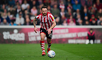 Lincoln City's Neal Eardley<br /> <br /> Photographer Chris Vaughan/CameraSport<br /> <br /> The EFL Sky Bet League Two - Lincoln City v Macclesfield Town - Saturday 30th March 2019 - Sincil Bank - Lincoln<br /> <br /> World Copyright © 2019 CameraSport. All rights reserved. 43 Linden Ave. Countesthorpe. Leicester. England. LE8 5PG - Tel: +44 (0) 116 277 4147 - admin@camerasport.com - www.camerasport.com