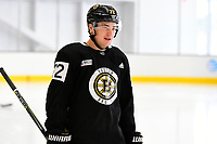 September 15, 2017: Boston Bruins center Frank Vatrano (72) skates during the Boston Bruins training camp held at Warrior Ice Arena in Brighton, Massachusetts. Eric Canha/CSM
