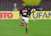 2nd February 2019, Stadio San Paolo, Naples, Italy; Serie A football, Napoli versus Sampdoria; Lorenzo Insigne of Napoli