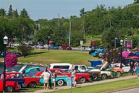 Classic car show <br />Kenora<br />Ontario<br />Canada
