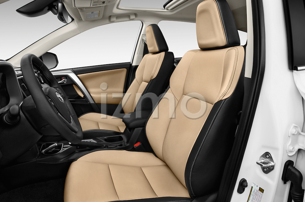 Front seat view of 2016 Toyota RAV4 Limited 4x4 Door Suv Front Seat  car photos