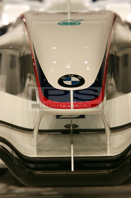 ©Jad Sherif/WRI2/TEAMSHOOT - Munich Germany 14/01/2008 ; BMW Sauber F1.08 Launch 14/01/08 ; BMW Sauber F1.08 Car.BMW Welt Munich....***************************************..GERMANY, AUSTRALIA, FINLAND,..ITALY and SWITZERLAND OUT..***************************************..© MaxPPP / IPS PHOTO AGENCY ..ONLY UK..FOR ANY INFO'S PLEASE CONTACT:..IPS photo..21 Delisle rd.. London SE28 0JD..TEL 004420883310207..FAX 00442088551037..Mob: 00447973308835....ONLY UK ONLY UK ONLY UK ONLY UK ..
