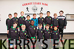 Dynamos U11<br /> -----------------<br /> Front,L-R Andy Rogers,Donagh Stephenson,Femi Williams,Maurice O'Connell,Alex Hoare and James Wong,Back L-R Adam wharton,Tom hoare,Tom White,Calvin Wong,Jack O'Donoghue,Thomas Maguire,Helion Cenaj,Ciaran Foran and Damian Cronin.