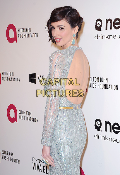 Paz Vega attends the 2014 Elton John AIDS Foundation Academy Awards Viewing Party in West Hollyood, California on March 02,2014                                                                               <br /> CAP/DVS<br /> &copy;DVS/Capital Pictures
