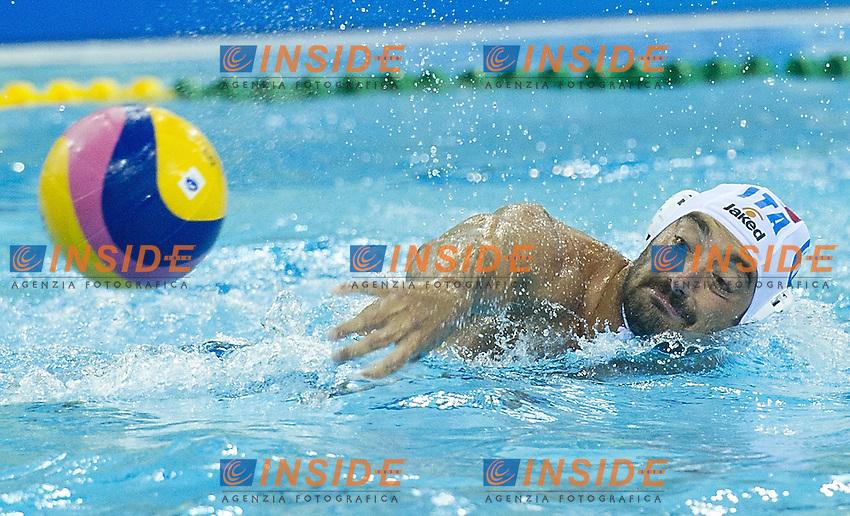 Shanghai , China (CHN) 16-31 July 2001.XIV FINA Swimming World Championships.day 07.Men's Water Polo.Italia Vs Germany.FELUGO Maurizio ITA...Photo Insidefoto / Giorgio Scala
