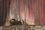 old worn barn siding
