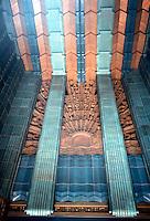 Los Angeles: Eastern Building--Entrance. 849 S. Broadway, L. A., 1929. Claude Beelman.  Photo 1989.