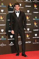 Quim Gutierrez attends the Feroz Cinema Awards 2015 at Las Ventas, Madrid,  Spain. January 25, 2015.(ALTERPHOTOS/)Carlos Dafonte) /NortePhoto<br /> <br /> nortePhoto.com