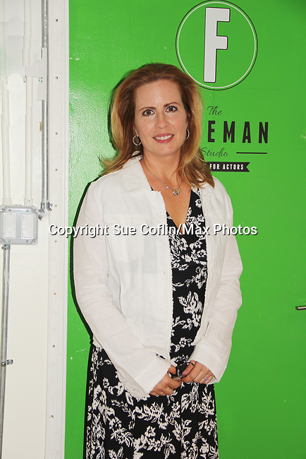 """As The World Turns' Martha Bryne at the benefit for """"The F"""" on June 22, 2018 at the Freeman Studio, New York City, New York. (Photo by Sue Coflin/Max Photo)"""