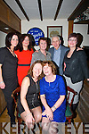 FAMILY: Great night by Maureen Jones and Pauline Barrett as they both celebrated their 60th birthday in The Oyster Tavern, The Spa, TYralee on Saturday night. Pauline Barrett and Maureen Jones. back l-r: Emma, paula, Theresa,Tim and Maeve Collins.