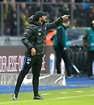 30.11.2019, OLympiastadion, Berlin, GER, DFL, 1.FBL, Hertha BSC VS. Borussia Dortmund, <br /> DFL  regulations prohibit any use of photographs as image sequences and/or quasi-video<br /> im Bild Co-Trainer Alexander Nouri (Hertha BSC Berlin)<br /> <br />       <br /> Foto © nordphoto / Engler