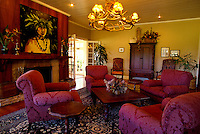 Jacaranda Inn interior, a bed & breakfast on Parker Ranch, Waimea