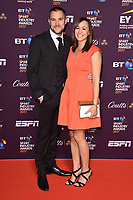 Jessica Ennis-Hill &amp; husband Andy Hill at the BT Sport Industry Awards 2017 at Battersea Evolution, London, UK. <br /> 27 April  2017<br /> Picture: Steve Vas/Featureflash/SilverHub 0208 004 5359 sales@silverhubmedia.com