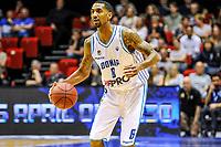 GRONINGEN - Basketbal, Donar - Den Helder Suns, Dutch Basketbal League, seizoen 2018-2019, 20-04-2019, Donar speler Jason Dourisseau