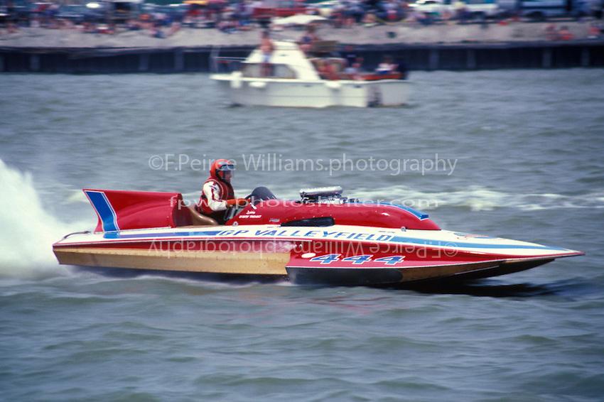 """Robert Theoret, GP-444 """"GP Valleyfield"""", Toledo 1985"""