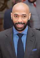 Thierry Henry at the Princes Trust &amp; TKMaxx &amp; Homesense Awards 2018, London Palladium, London UK on March 6th 2018<br /> CAP/ROS<br /> &copy;ROS/Capital Pictures