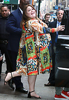 NEW YORK, NY - April 8:  Chrissy Metz seen at Good Morning America in New York City on April 08, 2019. <br /> CAP/MPI/RW<br /> ©RW/MPI/Capital Pictures