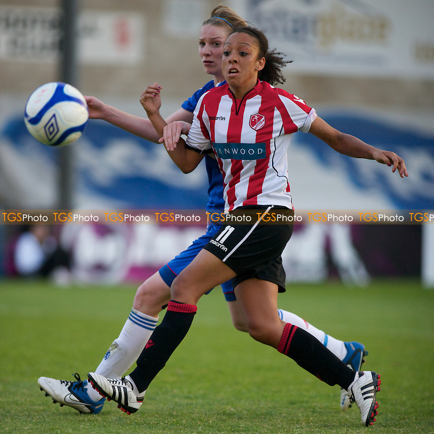 Jess Clarke (LIncoln). - Lincoln Ladies in the FA Women's Super League 2011 - 12/05/11 - MANDATORY CREDIT: Mark Hodsman/TGSPHOTO - Self billing applies where appropriate - 0845 094 6026 - contact@tgsphoto.co.uk - NO UNPAID USE.