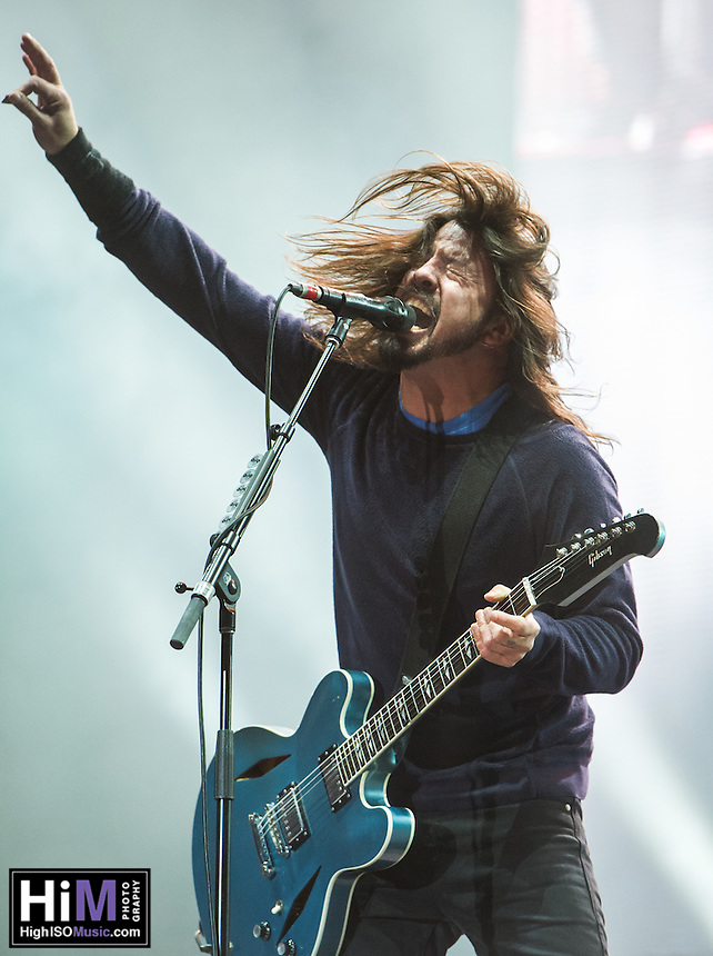 Foo Fighters performs at the 2014 Voodoo Music Experience.