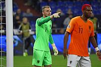 Torwart Jasper Cillessen (Niederlande) - 19.11.2018: Deutschland vs. Niederlande, 6. Spieltag UEFA Nations League Gruppe A, DISCLAIMER: DFB regulations prohibit any use of photographs as image sequences and/or quasi-video.