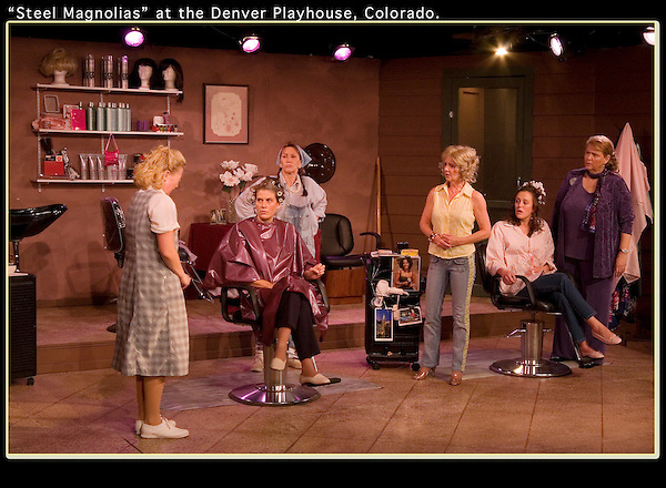 "On assignment, ""Steel Magnolias,"" Denver Playhouse, Denver, Colorado. .  John offers private photo tours in Denver, Boulder and throughout Colorado. Year-round."