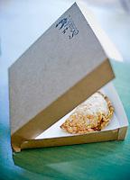 Empanada at Scracth in Durham, NC.