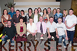 Golden: Enjoying a great evening at their 50th Wedding Anniversary in Gallys Bar & Restaurant, Castlemaine Road, Tralee, on Saturday were Eileen and Vincent McCormack of Mitchels Avenue, along with family and friends..