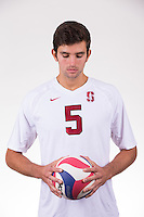 STANFORD, CA - OCTOBER 7, 2016: Stanford Men's Volleyball  Portraits, Marketing and Team photos.