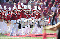 NWA Democrat-Gazette/J.T. WAMPLER Arkansas beat New Mexico State 42-24 Saturday Sept. 30, 2017 at Donald W. Reynolds Razorback Stadium in Fayetteville.