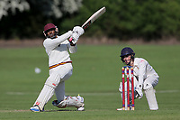 J Francis of Gidea Park during Hutton CC vs Gidea Park and Romford CC, Shepherd Neame Essex League Cricket at the Polo Field on 11th May 2019