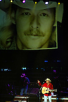 Alan Jackson at the Allstate Arena In Rosemont IL..January 30 2004