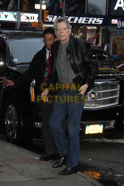 NEW YORK, NY - NOVEMBER 2: Stephen King at Good Morning America in New York City on November 2, 2015. <br /> CAP/MPI/RW<br /> &copy;RW/MPI/Capital Pictures