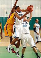 April 10, 2011 - Hampton, VA. USA;  Kyle Washington participates in the 2011 Elite Youth Basketball League at the Boo Williams Sports Complex. Photo/Andrew Shurtleff