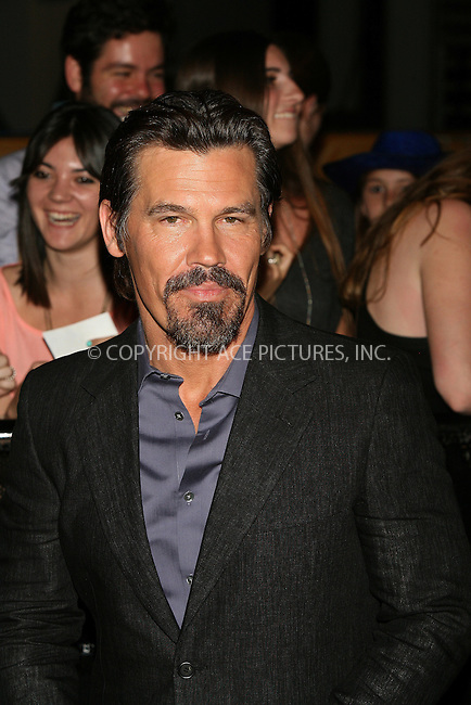 WWW.ACEPIXS.COM . . . . .  ..... . . . . US SALES ONLY . . . . .....May 13 2012, Madrid....Actor Josh Brolin at the 'Men In Black 3' premiere at La Caja Magica on May 13, 2012 in Madrid, Spain.....Please byline: FD/ACE Pictures, Inc.... . . . .  ....Ace Pictures, Inc:  ..Tel: (212) 243-8787..e-mail: info@acepixs.com..web: http://www.acepixs.com