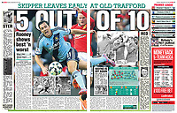 The Sun 28-Sep-2014 - '5 OUT OF 10' - Main photo by Rob Newell (Digital South)