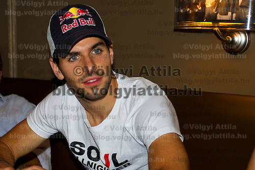 Toro Rosso Formula One driver Jaime Alguersuari visits Formula 1 aferparty held in Club Symbol, Budapest, Hungary. Sunday, 01. August 2010. ATTILA VOLGYI