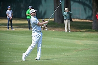 Brandon Grace (RSA) watches his approach shot on 11 during round 2 of the World Golf Championships, Mexico, Club De Golf Chapultepec, Mexico City, Mexico. 3/2/2018.<br /> Picture: Golffile | Ken Murray<br /> <br /> <br /> All photo usage must carry mandatory copyright credit (&copy; Golffile | Ken Murray)
