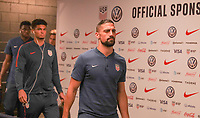 WASHINGTON D.C. - OCTOBER 11: Sebastian Lletget #17 of the United States walks off the team bus prior to their Nations League game versus Cuba at Audi Field, on October 11, 2019 in Washington D.C.