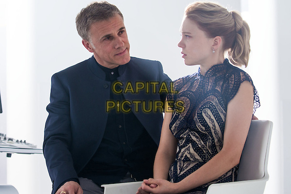Spectre (2015) <br /> Christoph Waltz, Lea Seydoux<br /> *Filmstill - Editorial Use Only*<br /> CAP/FB<br /> Image supplied by Capital Pictures