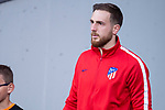 Atletico de Madrid Jan Oblak during Europa League Semi Finals First Leg match between Atletico de Madrid and Arsenal FC at Wanda Metropolitano in Madrid, Spain. May 03, 2018.  (ALTERPHOTOS/Borja B.Hojas)