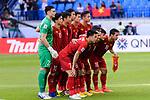 Vietnam squad poses for photos during the AFC Asian Cup UAE 2019 Round of 16 match between Jordan (JOR) and Vietnam (VIE) at Al Maktoum Stadium on 20 January 2019 in Dubai, United Arab Emirates. Photo by Marcio Rodrigo Machado / Power Sport Images
