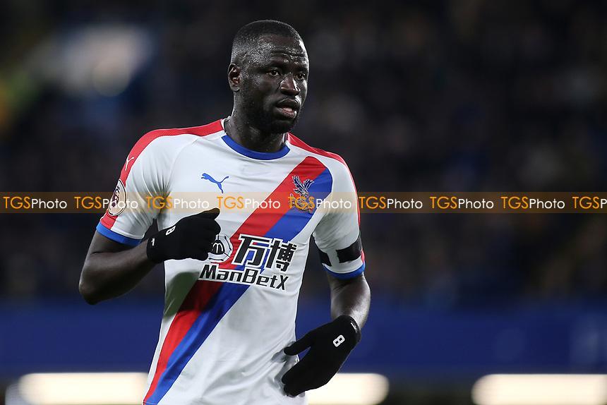 Cheikhou Kouyate of Crystal Palace during Chelsea vs Crystal Palace, Premier League Football at Stamford Bridge on 4th November 2018