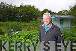 Ian McGregor at Gortbrack Organic farm on Thursday last.