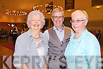 Celine Slattery, Danny Leane and Maureen Hanafin who attended the Failte PROBUS Fashion Show with Afternoon Tea in the Ballyroe Hotel yesterday  afternoon (Wednesday)