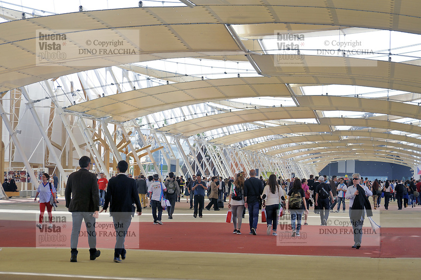 - Milano, Esposizione Mondiale Expo 2015<br />