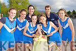 Killorglin rowers who was successful in the Queens Regatta, Belfast last weekend l-r: Meabh O'Sullivan, Aileen Crowley, Maeve McGillicuddy, Michelle Moriarty, Monika Dukarska, Kerri Fay and Zoe Hyde