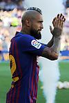 53e Trofeu Joan Gamper.<br /> Presentation 1st team FC Barcelona.<br /> Arturo Vidal.